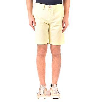 Sun 68 Yellow Cotton Shorts