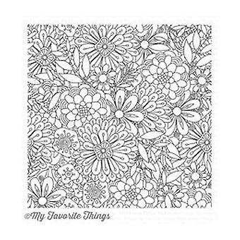 My Favorite Things Bundles Of Blossoms Background Stamp (BG-76)