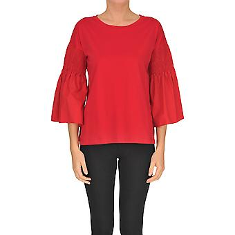 Seventy Red Cotton Sweater
