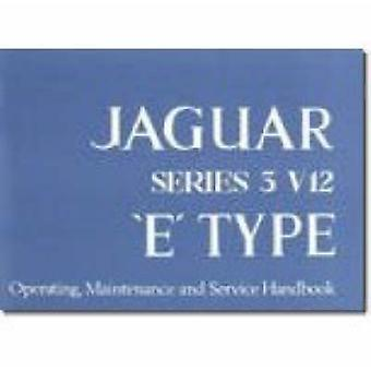 Jaguar E Type V12 Series 3 Handbook - 9781855200029 Book