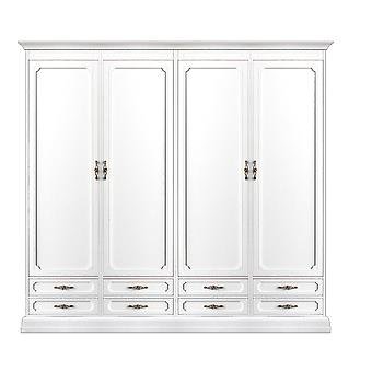 4-Doors modular wardrobe and 8 drawers