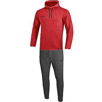 JAKO jogging pak Premium Basics met Hooded weatwear