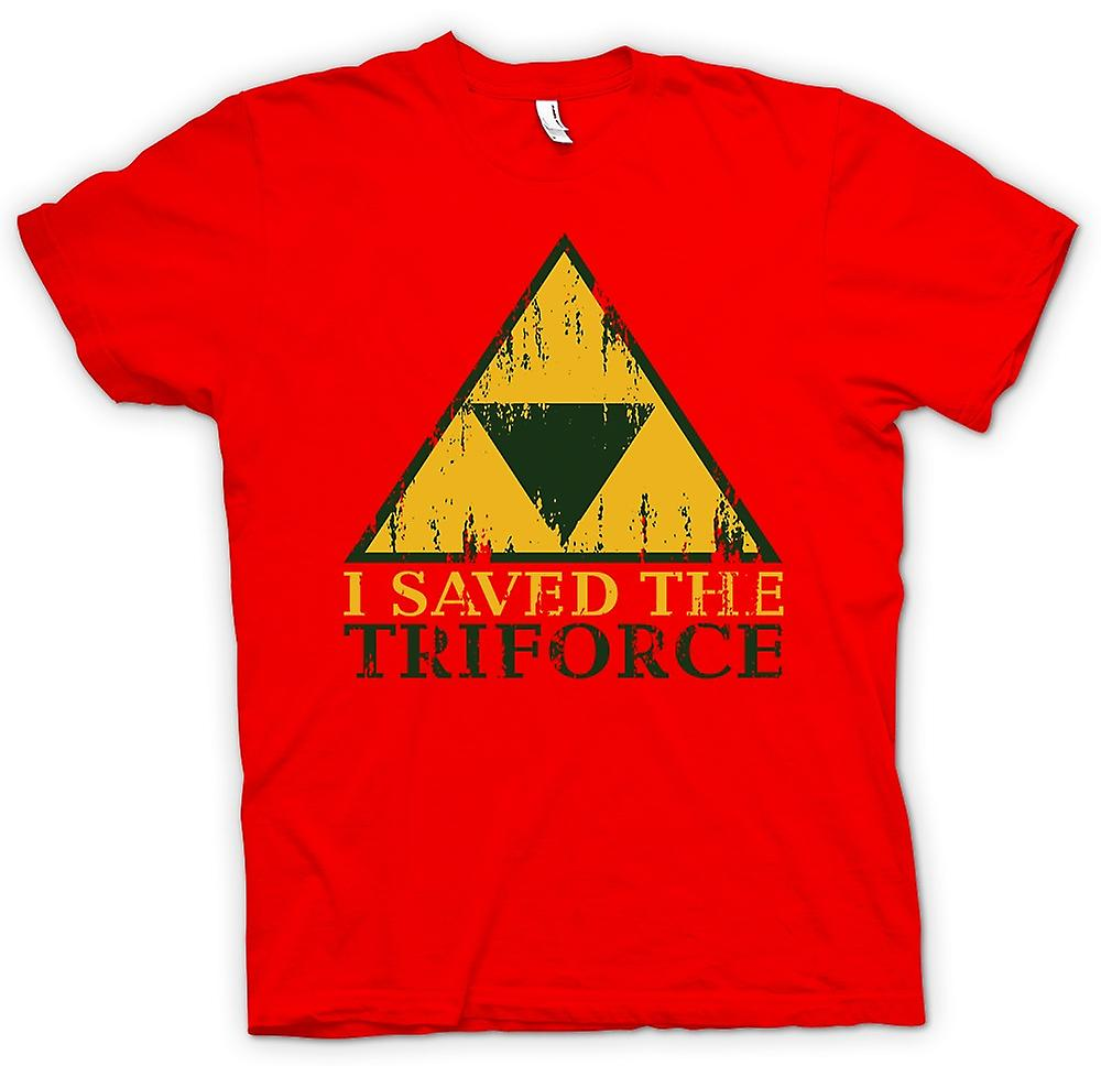 Mens T-shirt - I Saved The TriForce - Legend Of Zelda Inspired