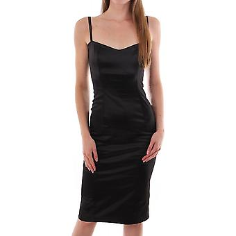 Kevan Jon Satin Slip Dress