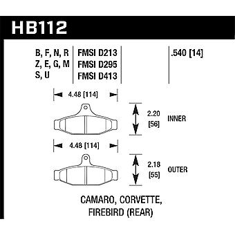 Hawk Performance HB112F.540 HPS