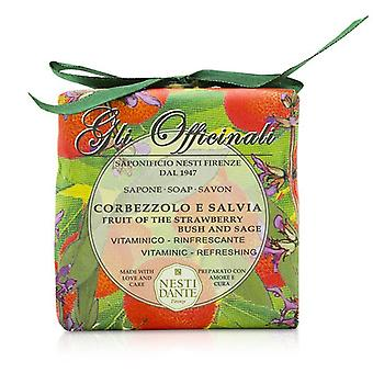 Nesti Dante Gli Officinali Soap - Fruit Of The Strawberry Bush & Sage - Vitaminic & Refreshing 200g/7oz