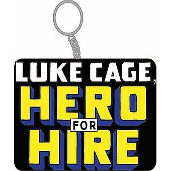 Sleutelhanger-Marvel-Luke Cage Hero voor verhuur gelicentieerde kc-MC-LK