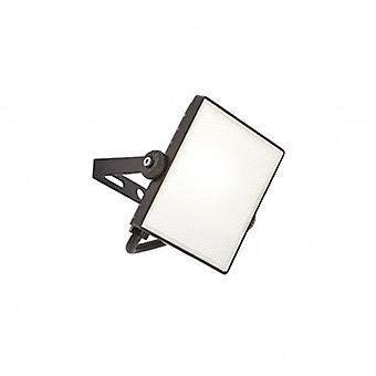 Integrated Led Pir 1 Light Outdoor Wall Light Textured Black, Frosted Ip65