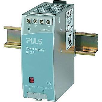 PULS SilverLine SL2.100 Rail mounted PSU (DIN) 24 Vdc 2.5 A 60 W 1 x