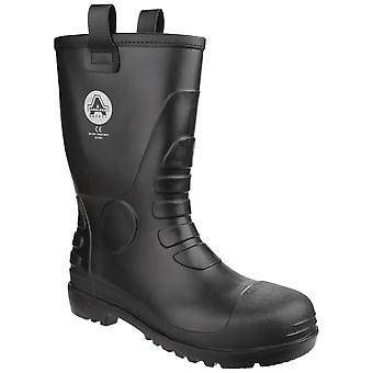 Amblers Safety Unisex FS90 Waterproof PVC Pull on Safety Rigger Boot