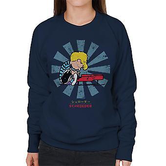 Schroeder Retro Japanese Peanuts Women's Sweatshirt