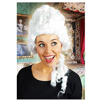 Parrucche medievali alta parrucca bianca