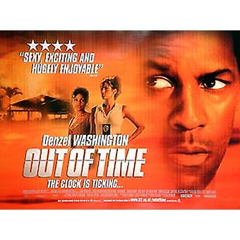 Out Of Time Original Cinema Poster