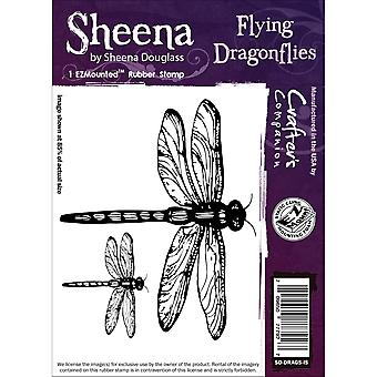 Sheena Douglass s'accrochent Stamp-Flying libellules SD-traîne