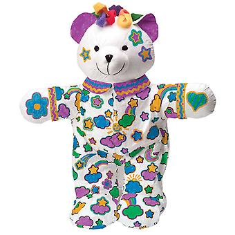69Wb couleur & Cuddle lavables Kit Bear
