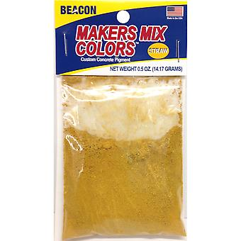 Makers-Mix Stepping Stone Colorant .5oz-Straw MMC-W5OZB