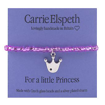 Carrie Elspeth per bracciale Little Princess Crown bambini