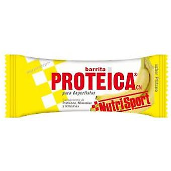 Nutrisport Banana Protein Bars Box 24Unid. (Sport , Sticks)
