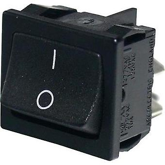 Toggle switch 250 V 10 A 1 x On/Off Arcolectric H8650VBAAG latch 1 pc(s)