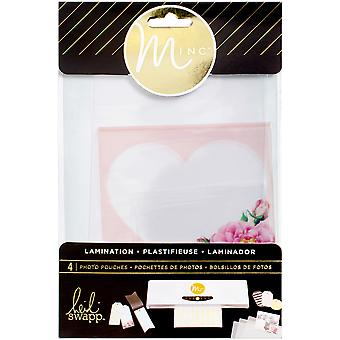 Minc Lamination Photo Pouches Assorted Sizes 4/Pkg-Printed HS313160