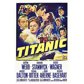 Titanic U Movie Poster Masterprint
