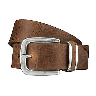 BERND GÖTZ belts men's belts leather belt camel 4093