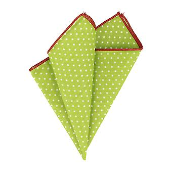 Snobbop handkerchief mouchoir white dots of Red edge handkerchief Cavalier cloth