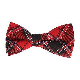 Mr. icone-bound fly loop Tartan red Blau Schwarz 12 x 6 cm