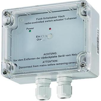 HomeMatic Wireless switching actuator 76795 1-channel Surface-mount 3680 W