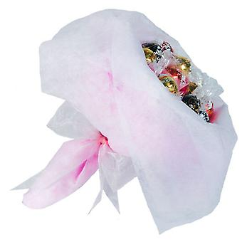 Easter Chocolate Posy - Pale Pink - Large