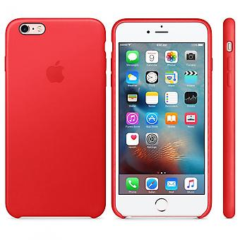 Apple MKXG2ZM/A leather cover case for iPhone 6 s + plus - red
