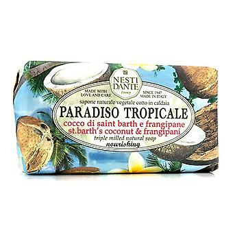 Nesti Dante Paradiso Tropicale Triple Milled Natural Soap - St. Barths Coconut & Frangipani 250g/8.8oz