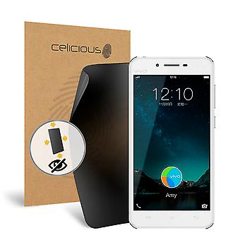 Celicious Privacy Plus vivo X9 Plus 4-Way Visual Black Out Screen Protector