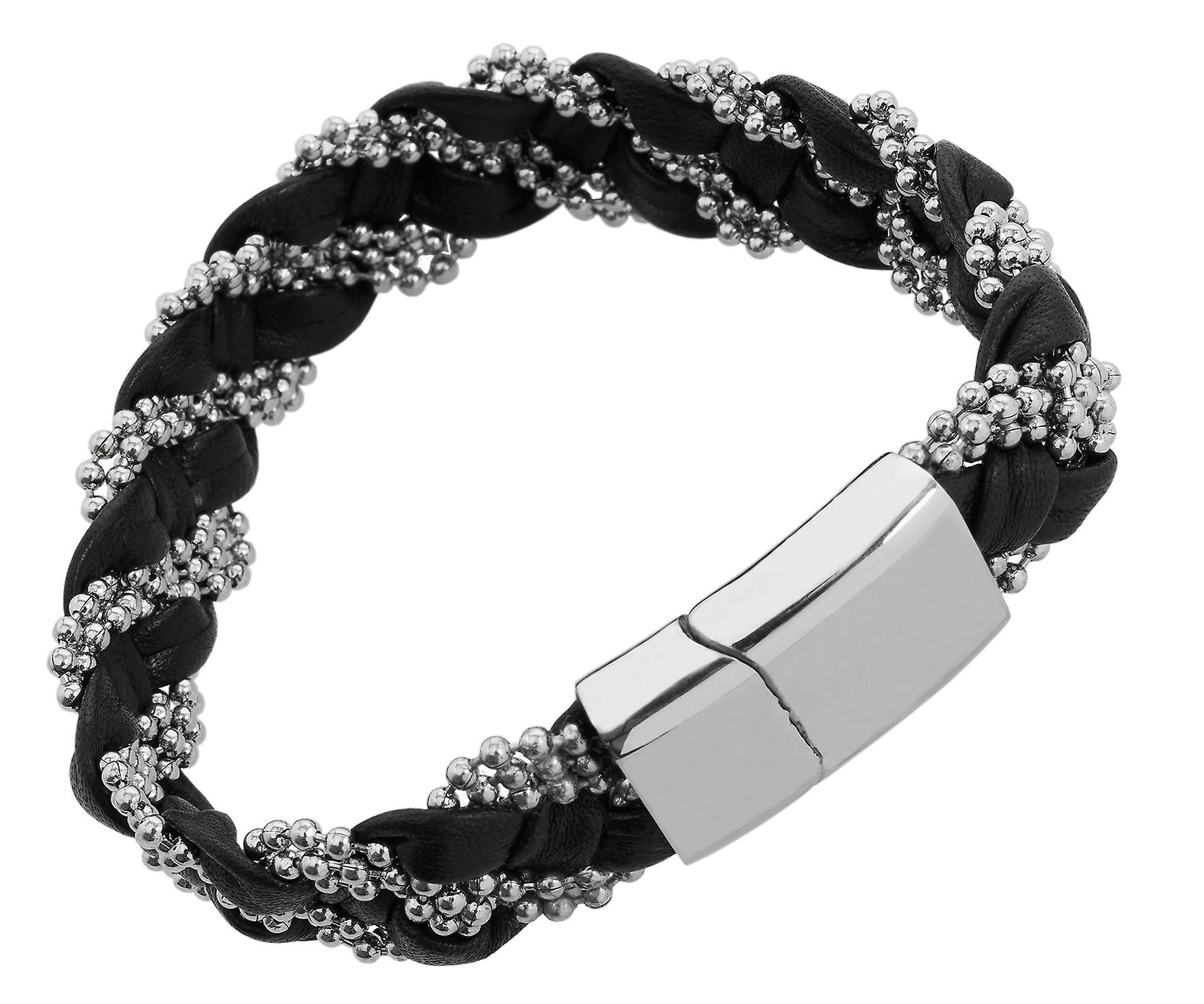 Burgmeister Leather bracelet, JBM4008-755