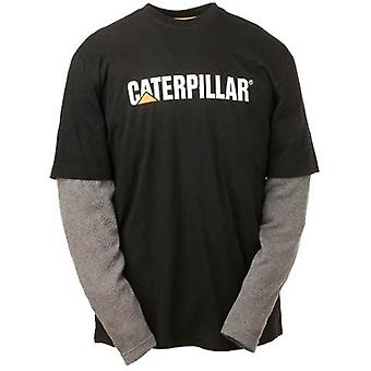 Caterpillar C1510036 Mens Thermal Layered Long Sleeved T Shirt Cotton Jersey