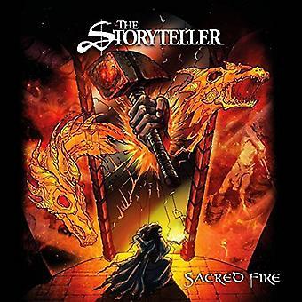 Storyteller - hellige ild [CD] USA importerer