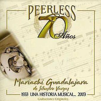 Mariachi Guadalajara De Silvestre - 70 importación USA Anos Peerless Una Historia Musical [CD]