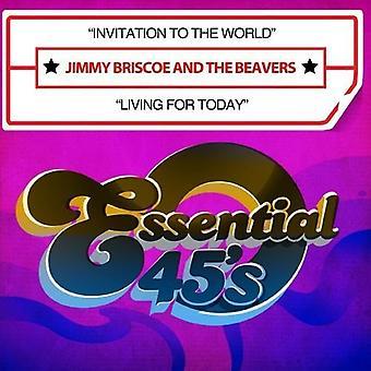 Jimmy Briscoe & bobry - zaproszenie do świata/życia dla importu z USA dzisiaj [CD]