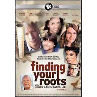 Finding Your Roots: Season 2 [DVD] USA import