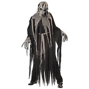 Crypt krypande skräck Halloween Ghoul Zombie män kostym