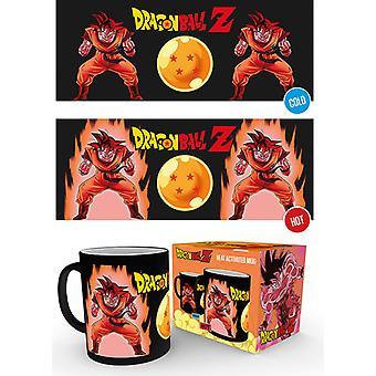Dragon Ball Z Super Saiyan 10oz varme ændre krus