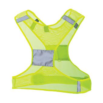 Nathan Sports Streak Reflective Vest Yellow