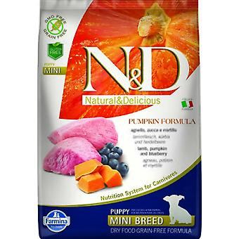 Farmina N&d grain free pumpkin puppy mini cordero (Chiens , Nourriture , Croquettes)