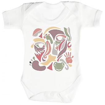Spoilt Rotten Colour Collage Baby Short Sleeve Baby Bodysuit