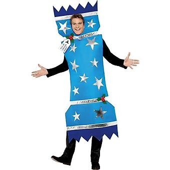 Smiffys Christmas Cracker Costume Blue With Tabard (Costumes)
