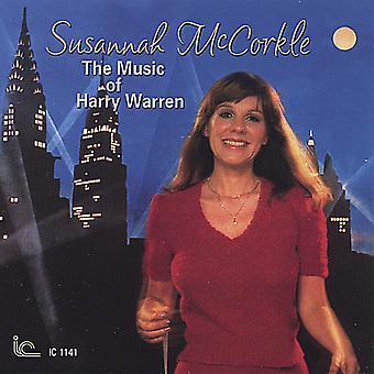Susannah McCorkle - musik af Harry Warren [CD] USA import