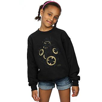Star Wars Girls The Last Jedi BB-8 Deconstructed Sweatshirt