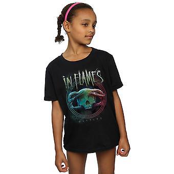 In Flames Girls Battles Circle T-Shirt