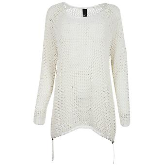 B.C.. best connections by heine sweater women's Chunky knit sweater white