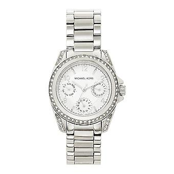 Michael Kors Watches Mk5612 Silver Stainless Steel Chronograph Ladies Watch
